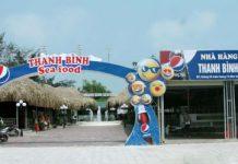 Cổng chào nhà hàng Thanh Bình Sầm Sơn
