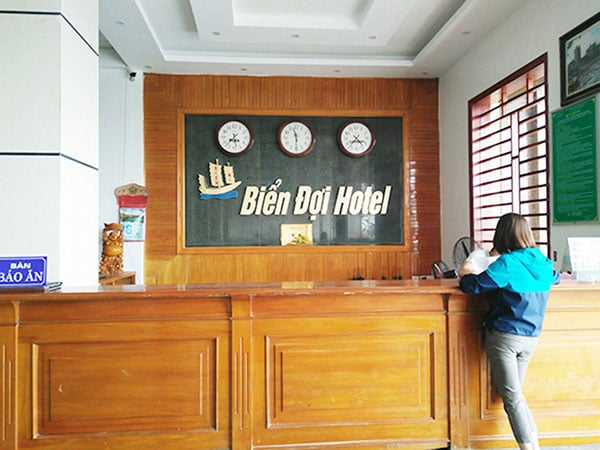 Lễ tân khách sạn Biển Đợi Sầm Sơn