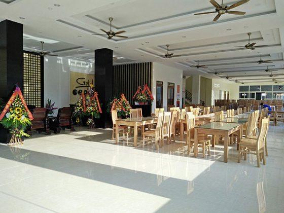 Sảnh khách sạn Gold Hotel Sầm Sơn
