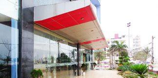 Mặt tiền khách sạn Marino Sầm Sơn