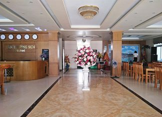 Sảnh khách sạn Tân Trường Sơn Sầm Sơn