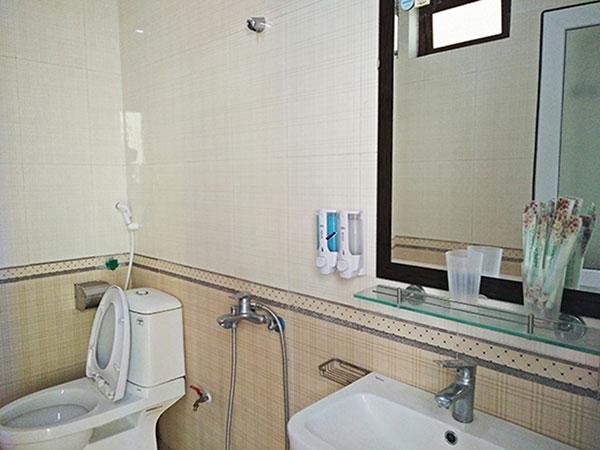 bồn tắm khách sạn sầm sơn