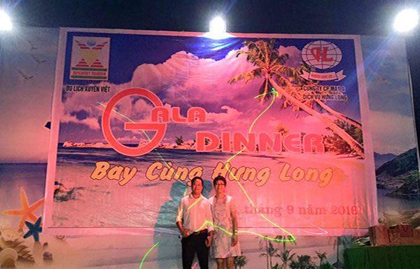 Sân khấu tại nhà hàng hải sản Chinh Thuỷ Sầm Sơn