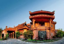 Lối vào Vạn Chài Resort Sầm Sơn