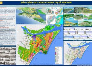 Bản đồ quy hoạch Sầm Sơn đến năm 2035