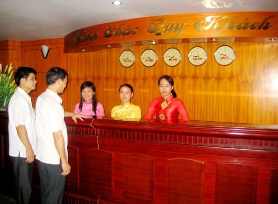 Lễ tân khách sạn Đức Thành Sầm Sơn
