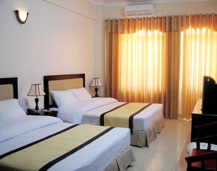 Phòng nghỉ tại khách sạn Đức Thành