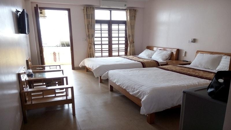 Phòng nghỉ khách sạn Biển Đợi