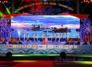Lễ khai trương du lịch Sầm Sơn 2017