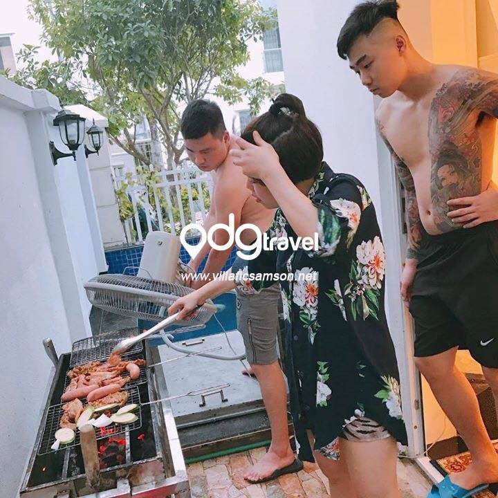 bếp nướng ngoài trời