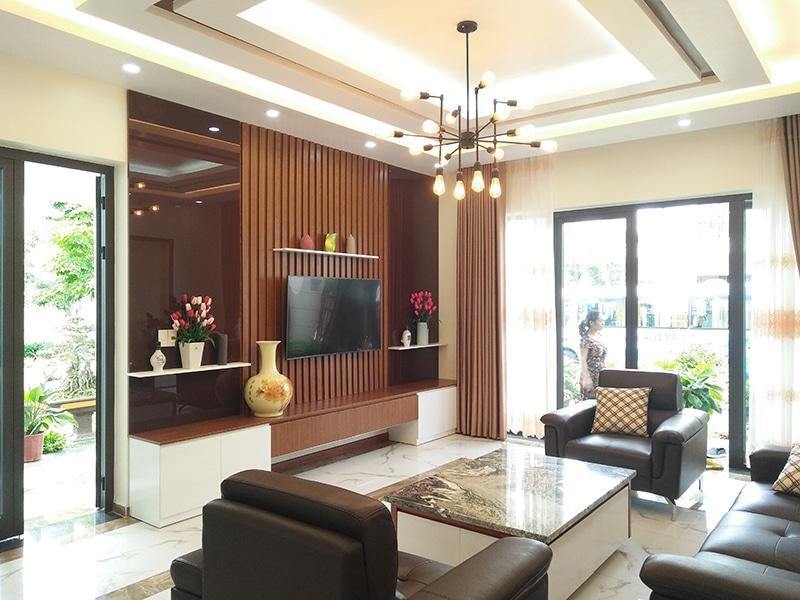 Phòng khách Villa