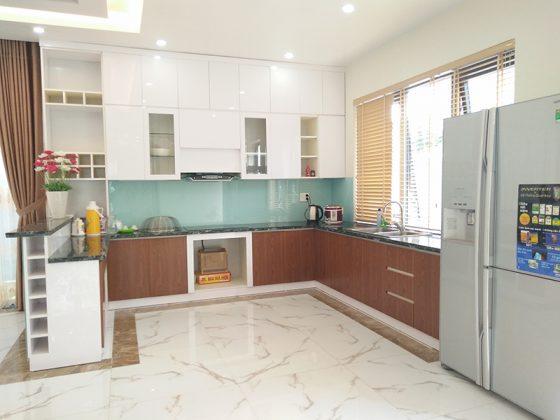 Bếp tại Villa