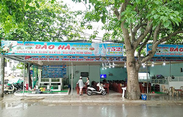 Nhà hàng hải Sản ở Sầm Sơn