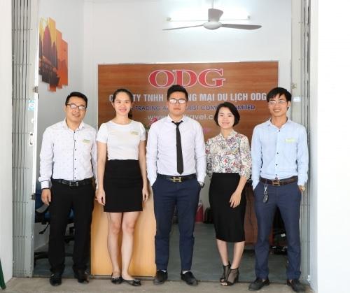 Đội ngũ nhân viên của ODG Travel