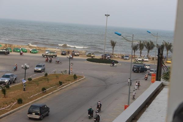 View các phòng mặt trước của khách sạn