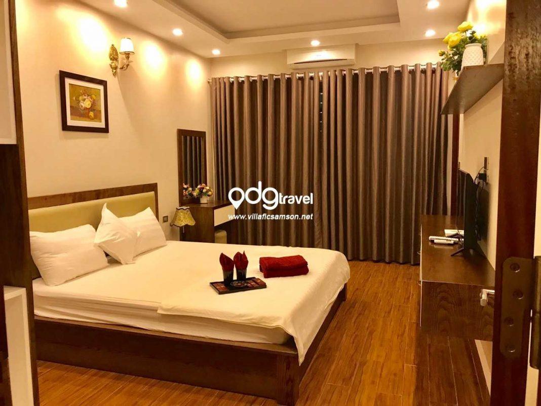 Phòng ngủ villa san hô flc sầm sơn