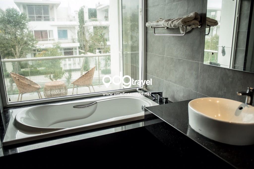 phòng tắm căn villa flc sầm sơn