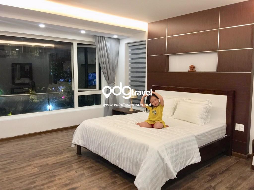 Phòng ngủ villa flc sầm sơn