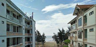 View nhìn từ khách sạn Sơn Trang Sầm Sơn