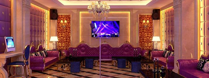 Phòng hát khách sạn Thanh Bình Gold