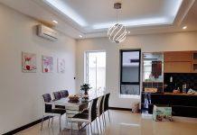 Phòng ăn tại FLC Villa