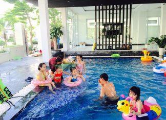 Bể bơi tại FLC Sầm Sơn